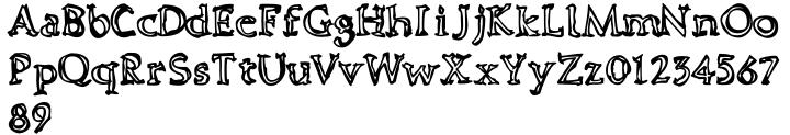 Dooddle™ Font Sample