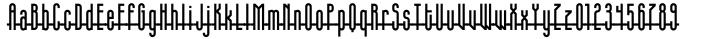 Slender™ Font Sample