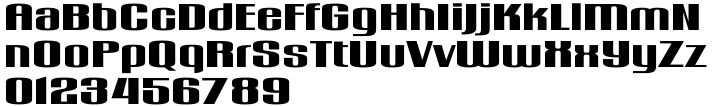 Gogosquat™ Font Sample