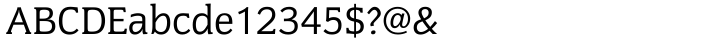 Congress™ Font Sample