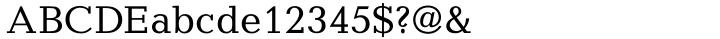 Candida® Font Sample