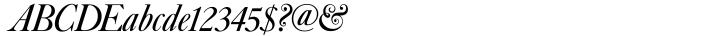 Caslon No. 540 Font Sample