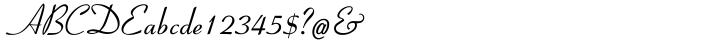 Coronet I Font Sample