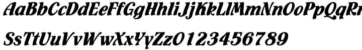Flamenco Font Sample