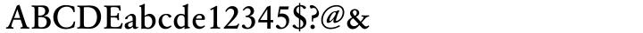 URW Garamond™ Font Sample