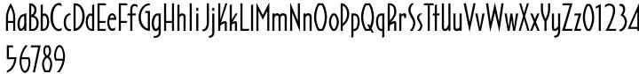 Aviator SG™ Font Sample