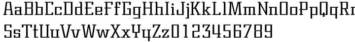 Centric Geo SG™ Font Sample