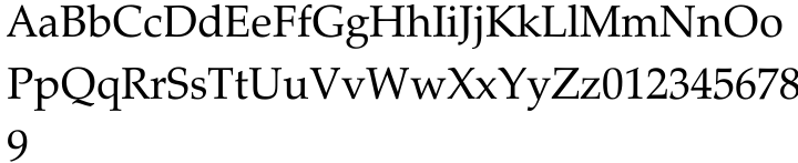 Zapf Calligraphic 801 Font Sample