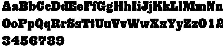 PL Behemoth Font Sample