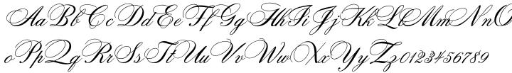 Citadel Script™ Font Sample