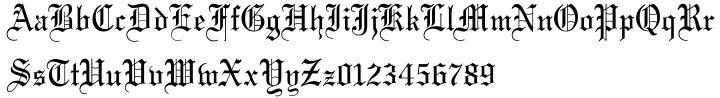 Wedding Text™ Font Sample
