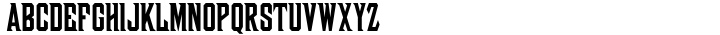 Woodblock Font Sample