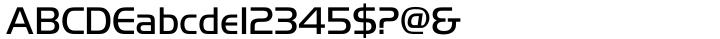 Handel Gothic Font Sample