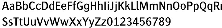 Bosis Font Sample