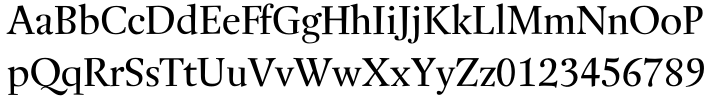 Buccardi™ Font Sample
