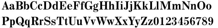 Monotype Century Font Sample