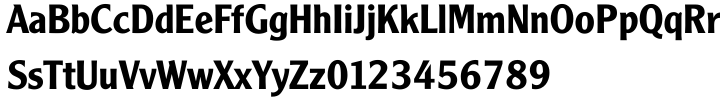 Monotype Clearface Gothic™ Font Sample