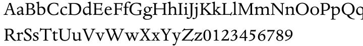 Dante® Font Sample