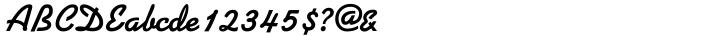 Kaufmann Font Sample