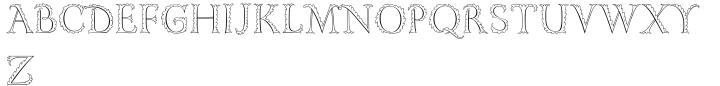 Gill Floriated Capitals™ Font Sample