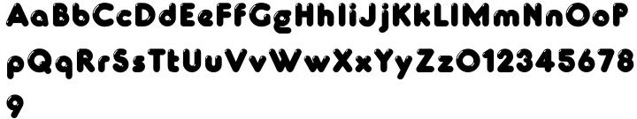 Glowworm MN Font Sample