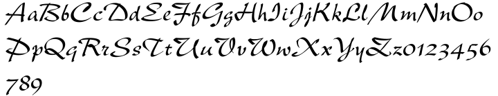 New Berolina® Font Sample