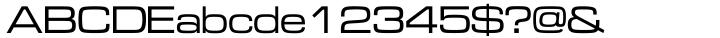 Microgramma™ Font Sample