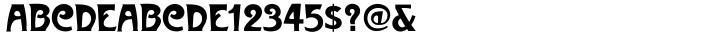 Metropolitaines™ Font Sample