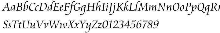 Cataneo BT™ Font Sample