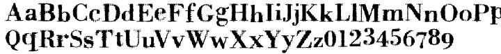 Badoni Font Sample