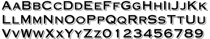Bitters Font Sample