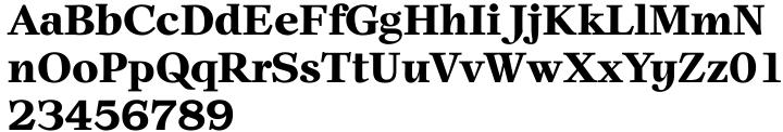 New Prairie Font Sample