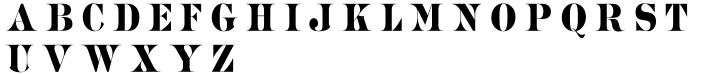 Revenue Font Sample