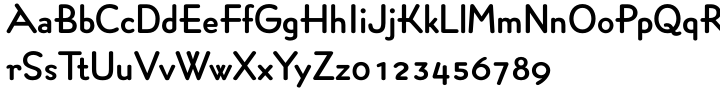 Concerto Rounded SG™ Font Sample