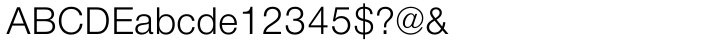 Nimbus Sans Novus™ Font Sample