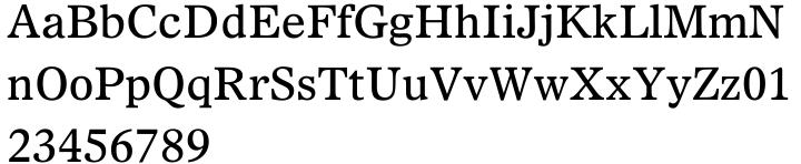 Dutch 811 Font Sample