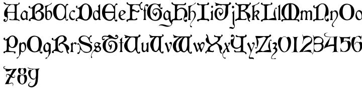 Aneirin Font Sample