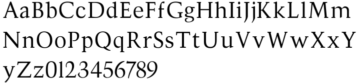 Divona Font Sample