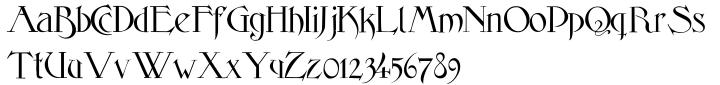 Elphinstone Font Sample