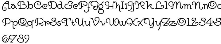 Goddard Font Sample