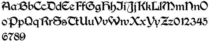 Joyeuse Font Sample