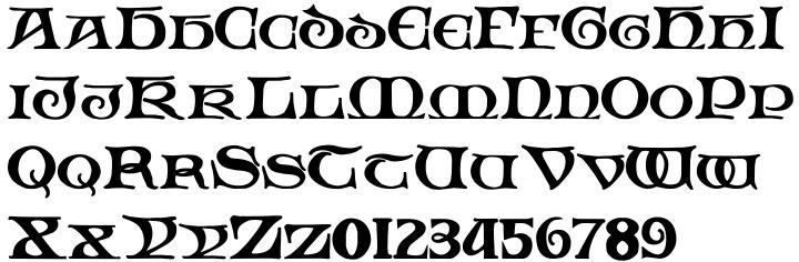 Padstow Font Sample