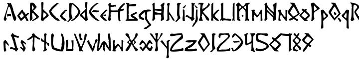 Surtur Font Sample