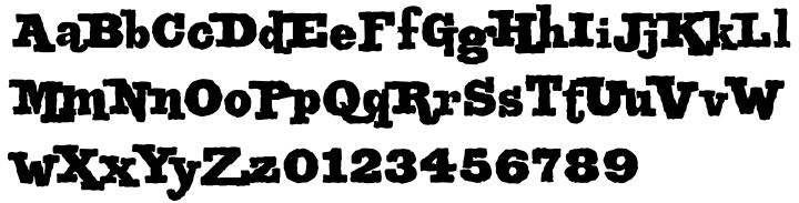 MonsterKit Font Sample