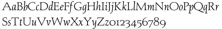 Aquinas™ Font Sample