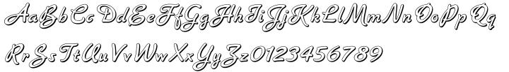 Banner™ Font Sample