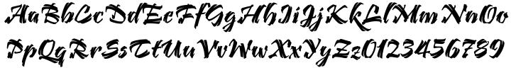 Bendigo™ Font Sample