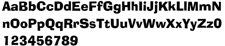 Ad Lib™ Font Sample