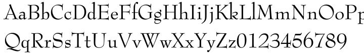 Bernhard Modern™ Font Sample