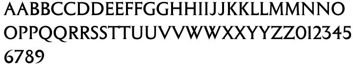 Columna™ Font Sample
